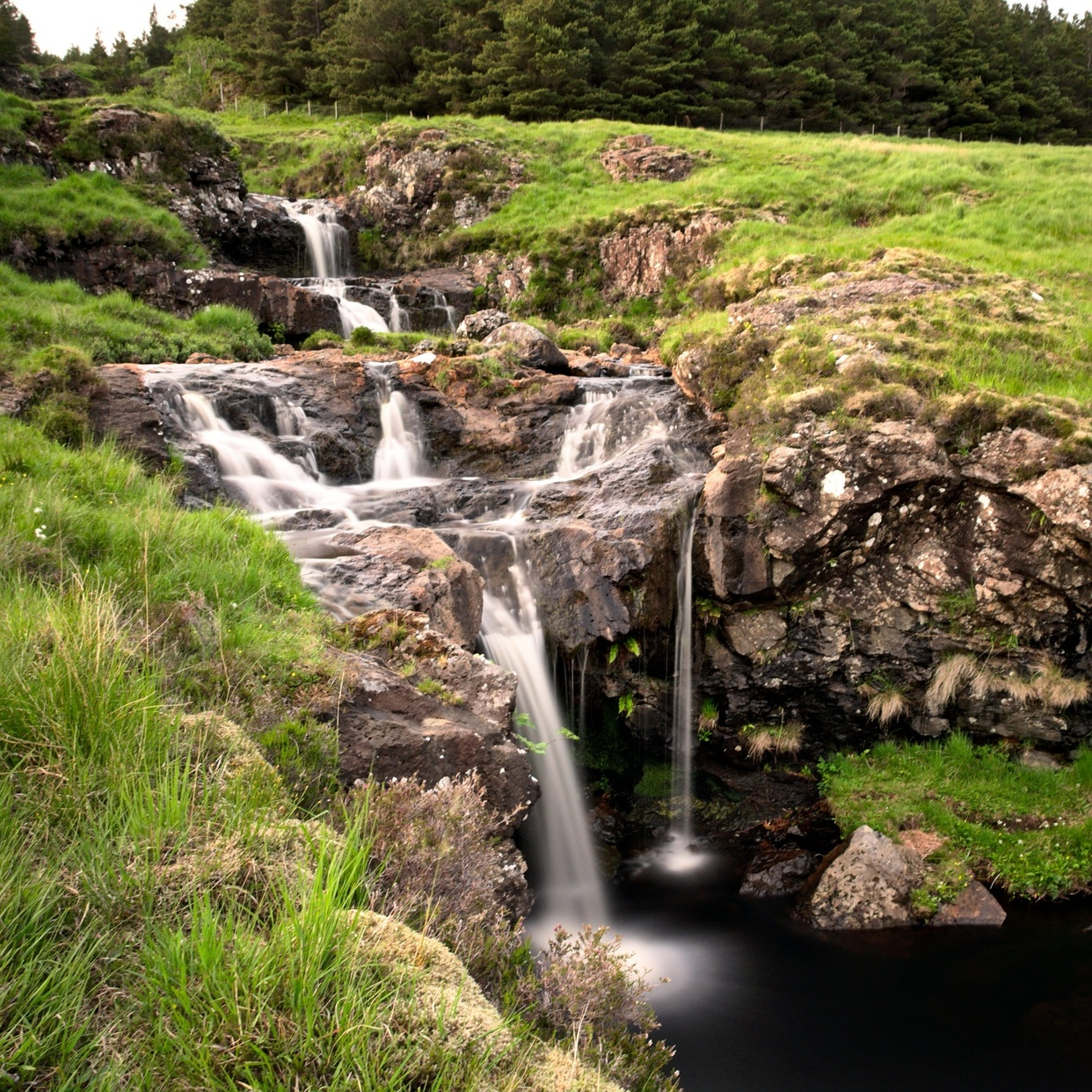 Waterfall on Isle of Skye